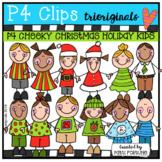 P4 CHEEKY Christmas KIDS (P4 Clips Trioriginals)