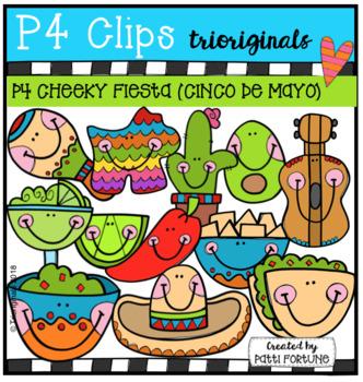 P4 CHEEKY Fiesta (CINCO DE MAYO) P4 Clips Trioriginals