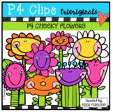 P4 CHEEKY Flower Garden  (P4 Clips Trioriginals)