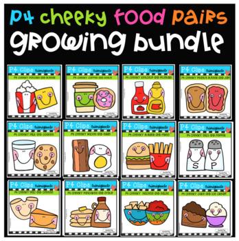 P4 CHEEKY Food PAIRS BUNDLE (P4 Clips Trioriginals)