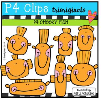 P4 CHEEKY GROWING BUNDLE (P4 Clips Trioriginals Clip Art)