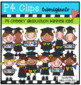 P4 CHEEKY Graduation KIDS BUNDLE (P4 Clips Trioriginals)