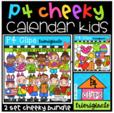 P4 CHEEKY KIDS Calendar BUNDLE (P4 Clips Trioriginals)