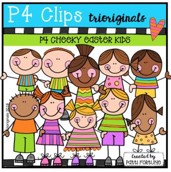 P4 CHEEKY KIDS Easter (P4 Clips Trioriginals)