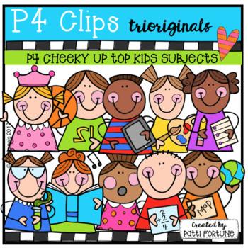 P4 CHEEKY KIDS Up Top School Subjects (P4 Clips Trioriginals)