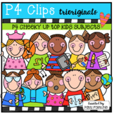 P4 CHEEKY KIDS Up Top School Subjects (P4 Clips Trioriginals)