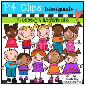 P4 CHEEKY KIDS Valentine's Day (P4 Clips Trioriginals)