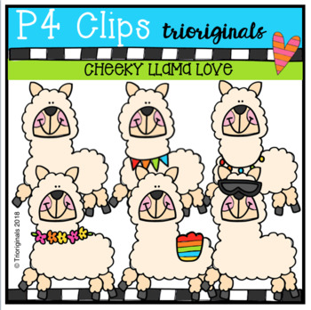 P4 CHEEKY Llama Love (P4 Clips Trioriginals)