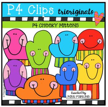 P4 CHEEKY Mittens (P4 Clips Trioriginals)