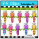 P4 CHEEKY Spring BUNDLE (P4 Clips Trioriginals Clip Art)