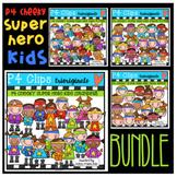 P4 CHEEKY Super Hero KIDS (P4 Clips Trioriginals)