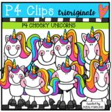 P4 CHEEKY Unicorns (P4 Clips Trioriginals)