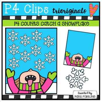 P4 COUNTS Catch a Snowflake (P4 Clips Trioriginals)
