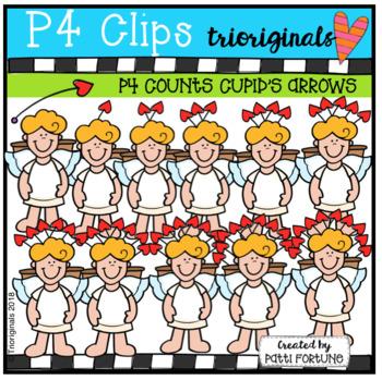 P4 COUNTS Cupid's Arrows (P4 Clips Trioriginals)