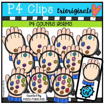 P4 COUNTS Germs (P4 Clips Trioriginals)