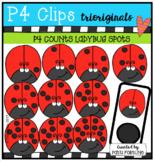 P4 COUNTS Ladybugs (P4 Clips Trioriginals)