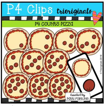 P4 COUNTS Pepperoni Pizza (P4 Clips Trioriginals)