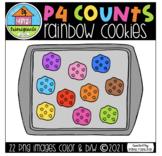 P4 COUNTS Rainbow Cookies (P4 Clips Trioriginals) COUNTING
