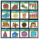 P4 COUNTS 1-10 Seasons BUNDLE (P4 Clips Trioriginals Clip Art)