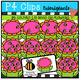 P4 COUNTS 1-10 Spring BUNDLE (P4 Clips Trioriginals Clip Art)