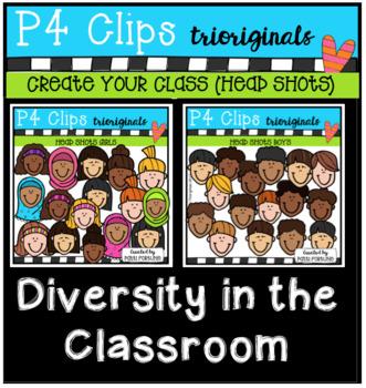 P4 CREATE Your Multicultural Classroom (Diversity) P4 Clips Trioriginals)