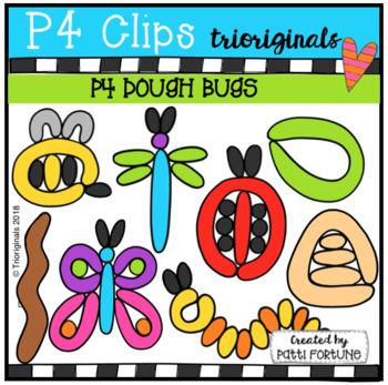 P4 DOUGH Bug Pictures (P4 Clips Trioriginals)