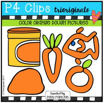 P4 DOUGH Color Pictures BUNDLE (P4 Clips Trioriginals Clip Art)