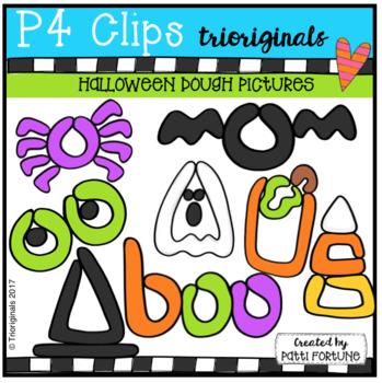 P4 DOUGH Halloween Pictures 9P4 Clips Trioriginals) HALLOWEEN CLIPART