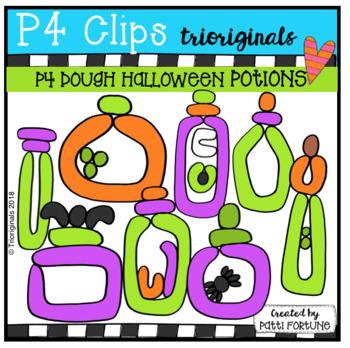 P4 DOUGH Halloween Potions (P4 Clips Trioriginals)