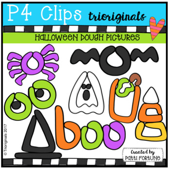 P4 DOUGH Holidays PICTURES BUNDLE (P4 Clips Trioriginals Clip Art)