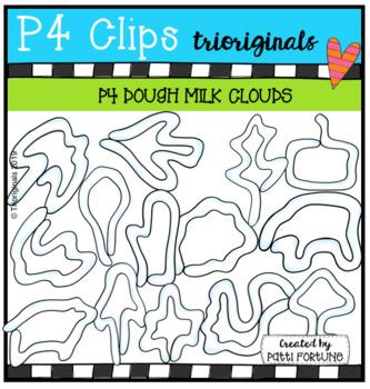 P4 DOUGH Milk Clouds (P4 Clips Trioriginals) BOOK COMPANION