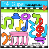 P4 DOUGH Music Notes (P4 Clips Trioriginals)