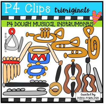 P4 DOUGH Musical Instruments (P4 Clips Trioriginals)