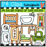 P4 DOUGH Parts of the House (P4 Clips Trioriginals)