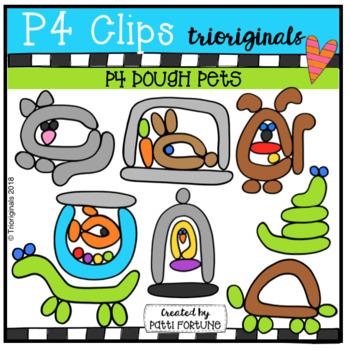 P4 DOUGH Pets (P4 Clips Trioriginals)