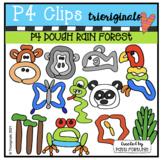 P4 DOUGH Rainforest (P4 Clips Trioriginals) DOUGH CLIPART