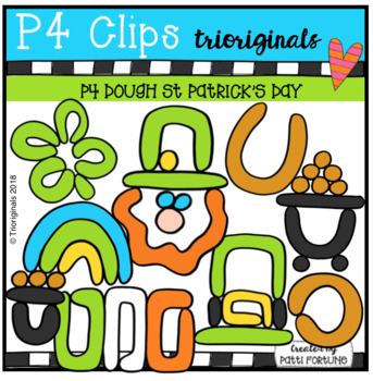 P4 DOUGH St Patricks Day (P4 Clips Trioriginals)