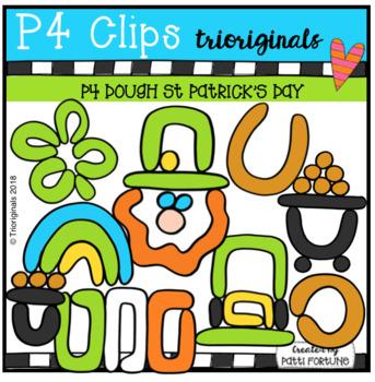 P4 DOUGH St Patricks Day (P4 Clips Trioriginals)