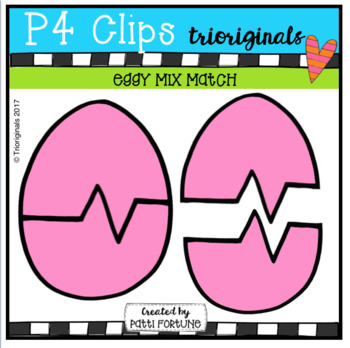 P4 FREE Eggy Mix Match (P4 Clips Trioriginals Clip Art)