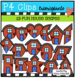 P4 FUN House Shapes (P4 Clips Trioriginals)
