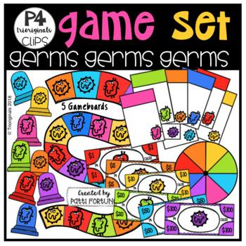P4 GAME SET Germs Germs Germs (P4 Clips Trioriginals)