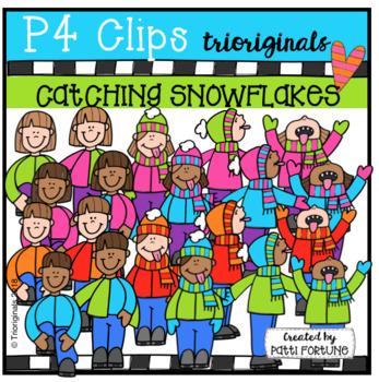 P4 KIDS Catching Snowflakes (P4 Clips Trioriginals)