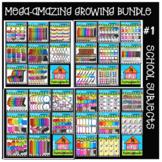 P4 MEGA AMAZING RAINBOW Growing BUNDLE School Subjects (P4 Clips Trioriginals)