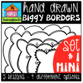 P4 MINI BIGGY Borders Set #1 (P4 Clips Trioriginals)