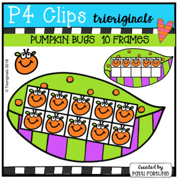 P4 MINI SUPER SET Pumpkin Bugs (P4 Clips Trioriginals)