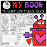 P4 MY BOOK Valentine Robot (Created by P4 Clips Trioriginals)