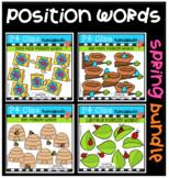 P4 POSITION WORDS Spring BUNDLE (P4 Clips Trioriginals)