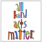 P4 PRINTABLE All Kind Acts Matter (P4Clips Trioriginals) P