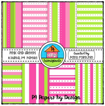 P4 Paper Spring {P4 Clips Trioriginals Digital Clip Art}