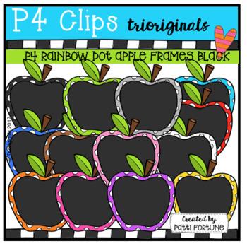 P4 RAINBOW Apple Frames Bundle #1 (P4 Clips Trioriginals)
